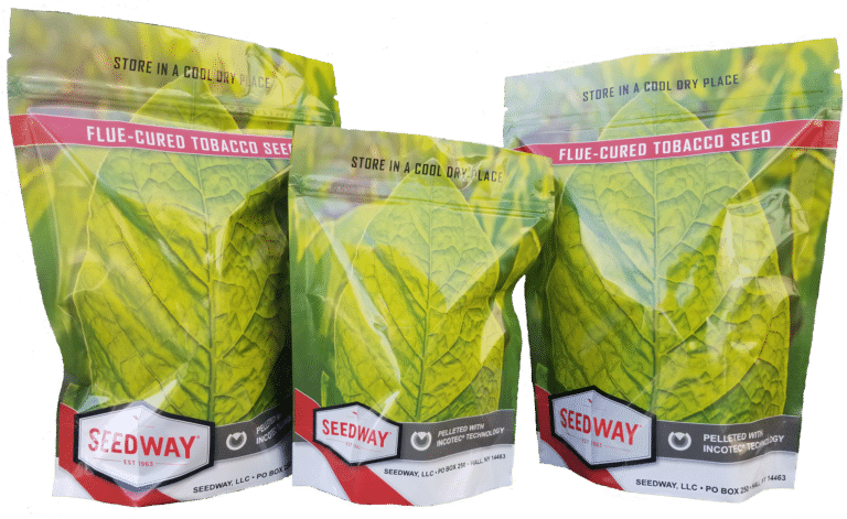 Bags of Seedway Tobacco Seed